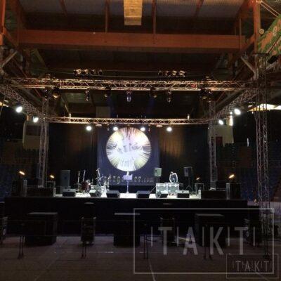 Такт Шоу концерт Баста в СК Звездный 24.09.2016г