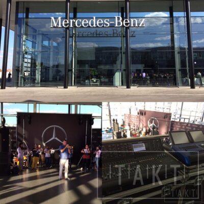 Такт Шоу открытие автосалона Mersedes_Benz 15.09.2016г