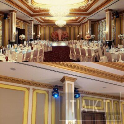 Такт Шоу свет на свадьбу в Астрахани 22.11.2016г